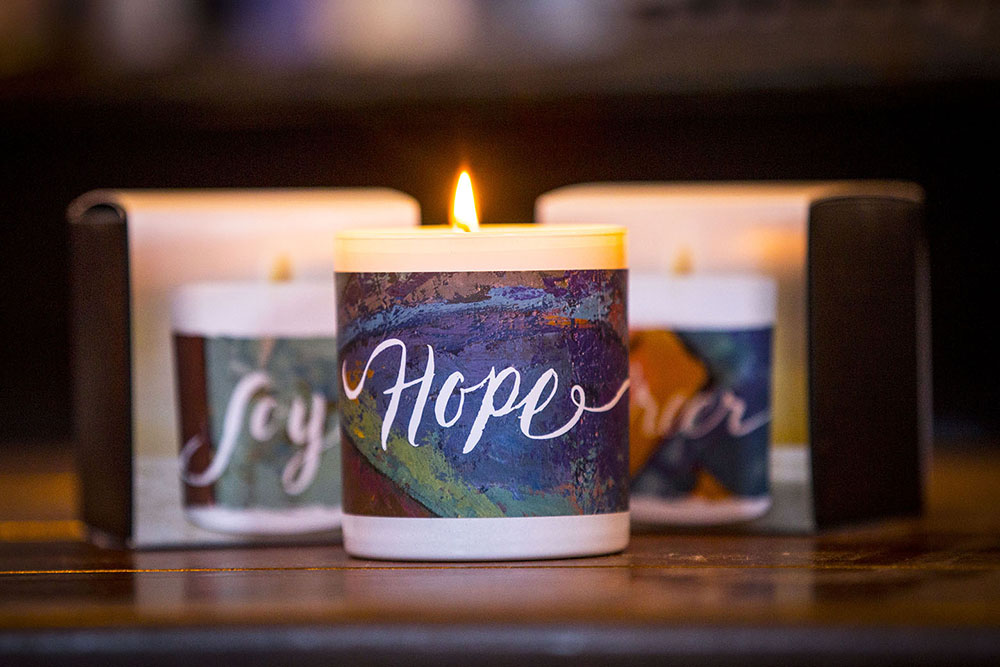 Freedom Candles Packaging